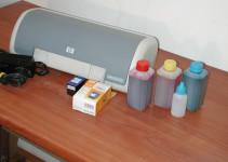 kako promjeniti toner na printeru